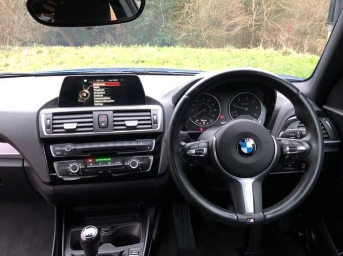 2016 BMW M Sport Coupe (Blue) - Image: 5