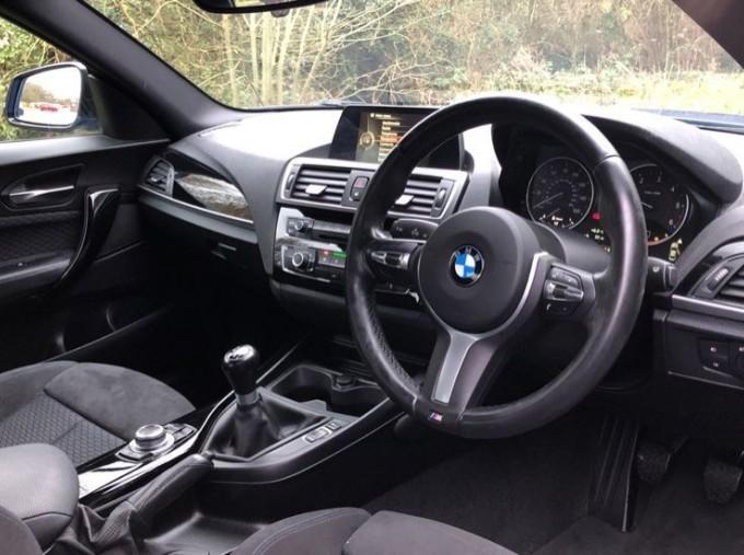2016 BMW M Sport Coupe (Blue) - Image: 6