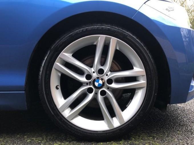 2016 BMW M Sport Coupe (Blue) - Image: 14