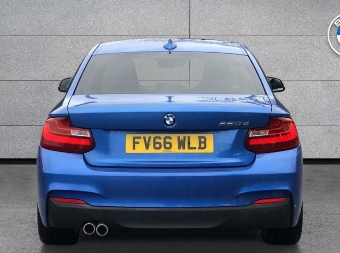2016 BMW M Sport Coupe (Blue) - Image: 15