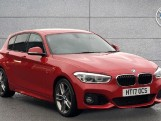 2017 BMW 118i M Sport 5-door (Red) - Image: 1