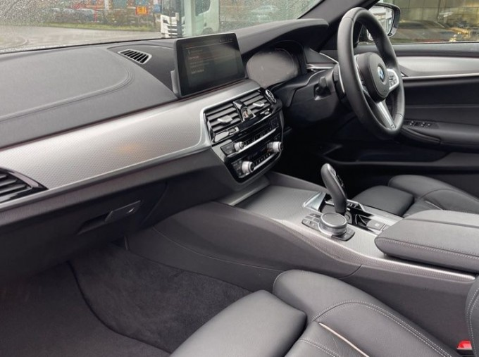 2020 BMW 520i M Sport Saloon (Black) - Image: 7