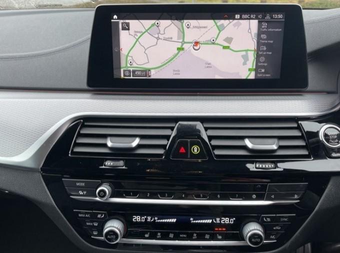 2020 BMW 520i M Sport Saloon (Black) - Image: 8