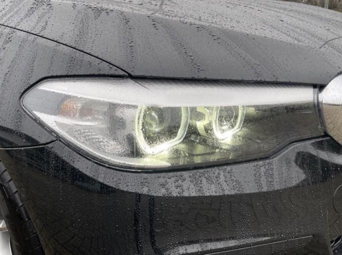 2020 BMW 520i M Sport Saloon (Black) - Image: 22