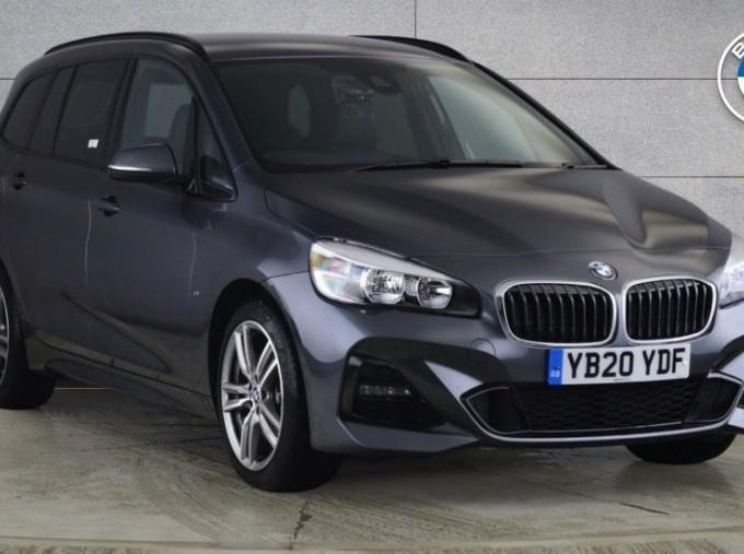 2020 BMW 218d M Sport Gran Tourer (Grey) - Image: 1