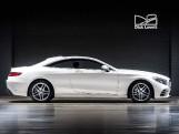 2018 Mercedes-Benz S560 V8 BiTurbo AMG Line (Premium) G-Tronic 2-door (White) - Image: 3