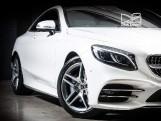 2018 Mercedes-Benz S560 V8 BiTurbo AMG Line (Premium) G-Tronic 2-door (White) - Image: 9