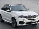 2018 BMW XDrive40d M Sport (White) - Image: 1