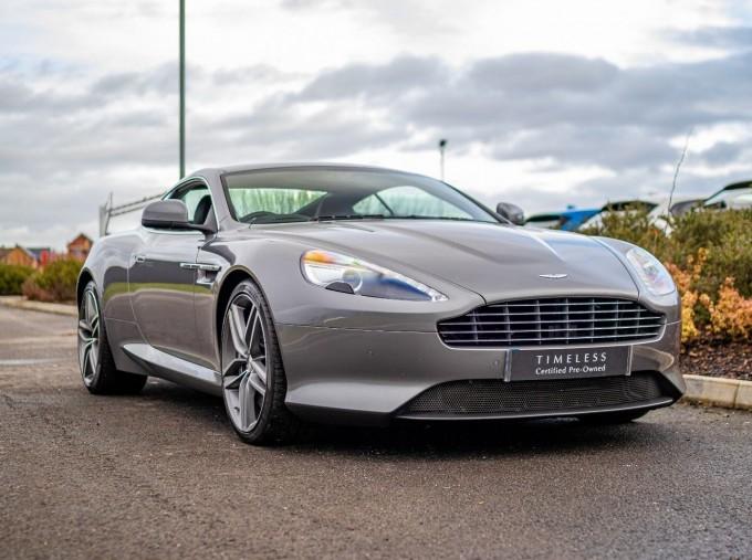 2012 Aston Martin V12 Touchtronic 2-door (Silver) - Image: 1