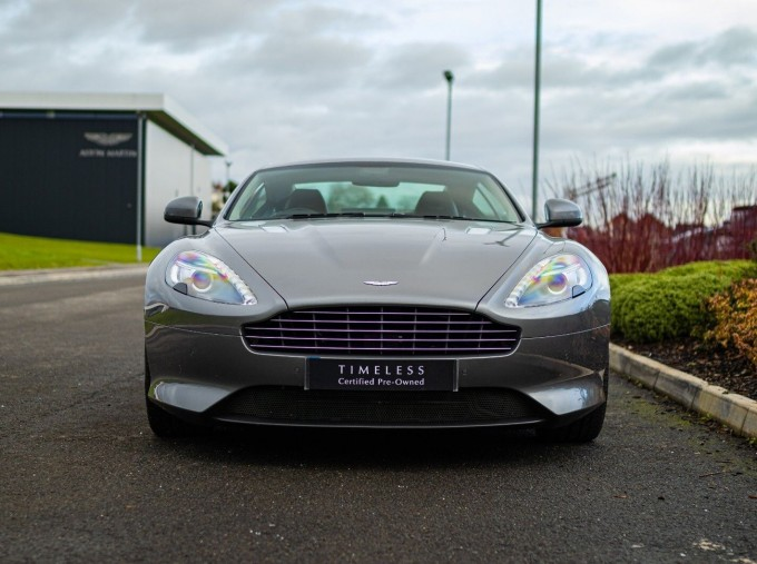 2012 Aston Martin V12 Touchtronic 2-door (Silver) - Image: 15