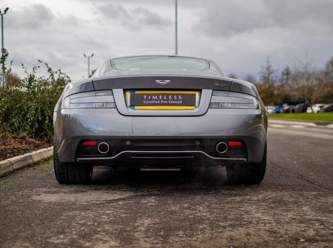 2012 Aston Martin V12 Touchtronic 2-door (Silver) - Image: 20