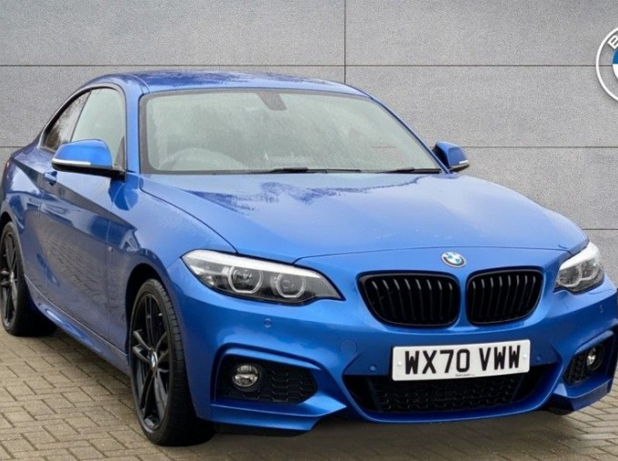 2020 BMW 220i M Sport Coupe (Blue) - Image: 1