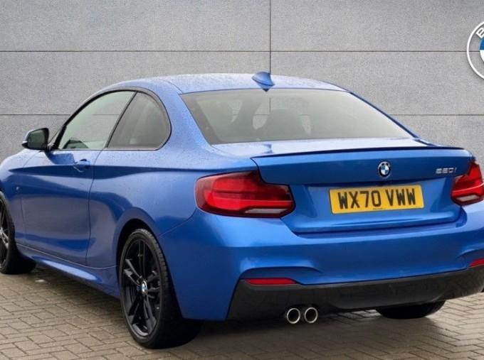 2020 BMW 220i M Sport Coupe (Blue) - Image: 2