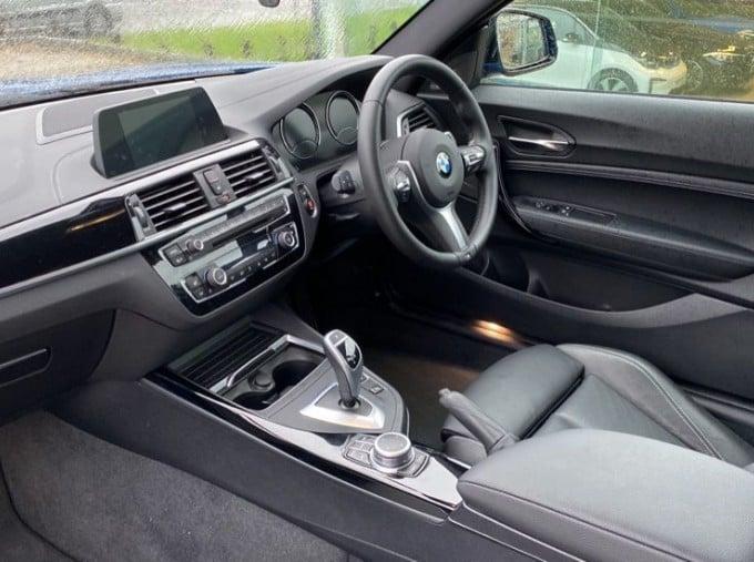 2020 BMW 220i M Sport Coupe (Blue) - Image: 7