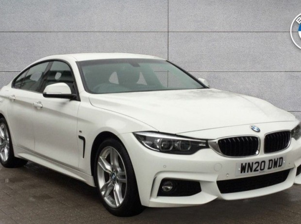 Reserve your 2020 BMW 4 Series Gran Coupe 420i M Sport Gran Coupe 5-door