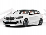 2021 BMW 118d M Sport 5-door (White) - Image: 1