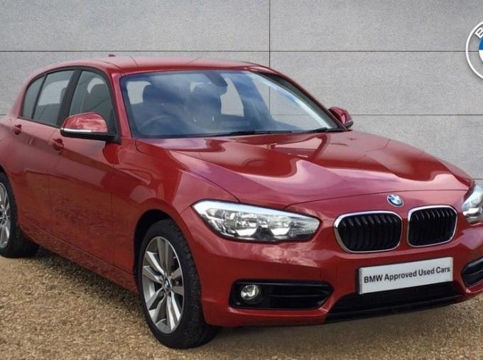 2019 BMW 118i Sport 5-door (Red) - Image: 1