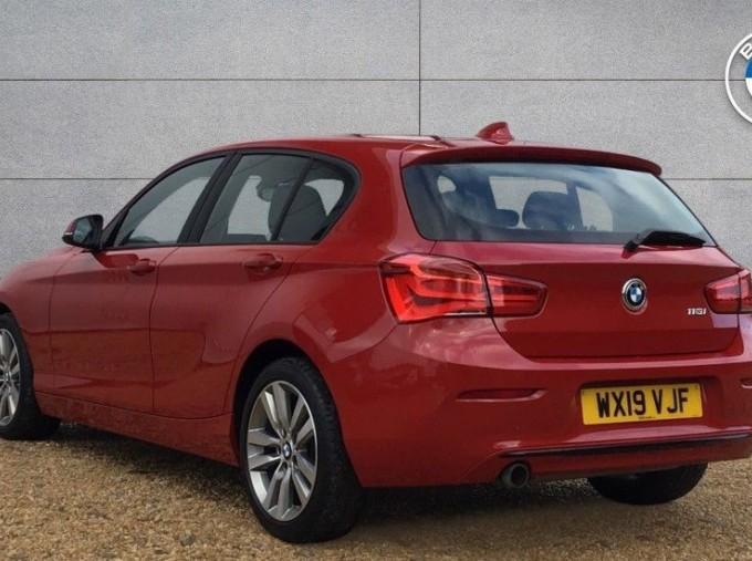 2019 BMW 118i Sport 5-door (Red) - Image: 2