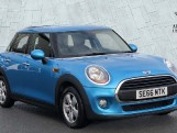 2017 MINI 5-door One (Blue) - Image: 1