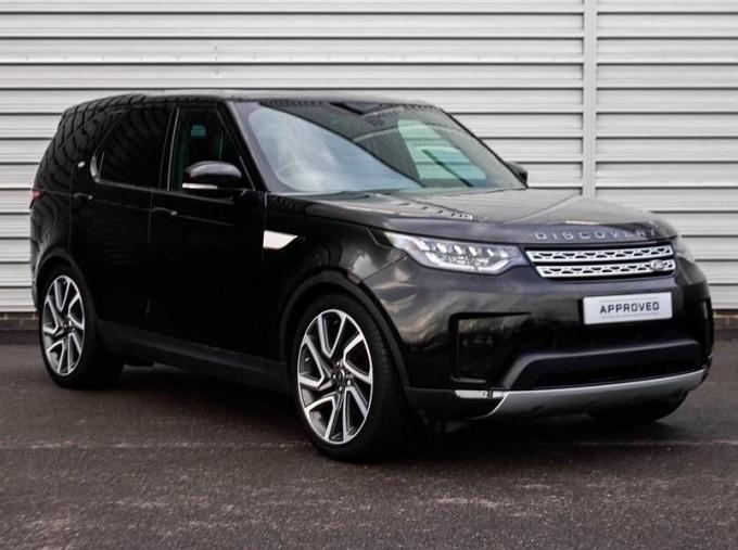 2018 Land Rover 3.0 TD6 (258hp) HSE (Black) - Image: 1