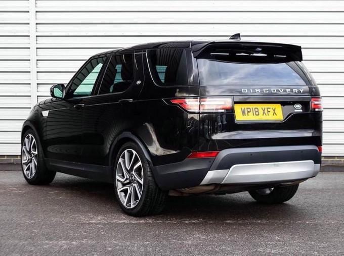 2018 Land Rover 3.0 TD6 (258hp) HSE (Black) - Image: 2