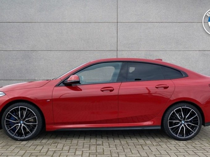 2020 BMW 218i M Sport Gran Coupe (Red) - Image: 3