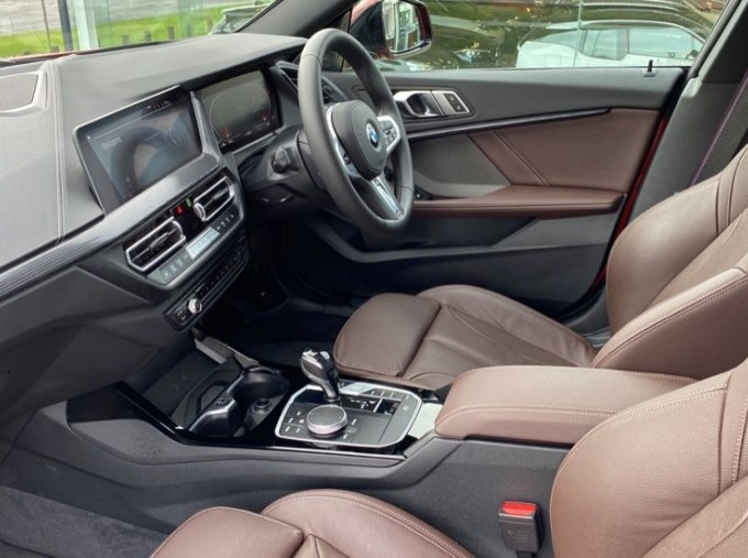 2020 BMW 218i M Sport Gran Coupe (Red) - Image: 7