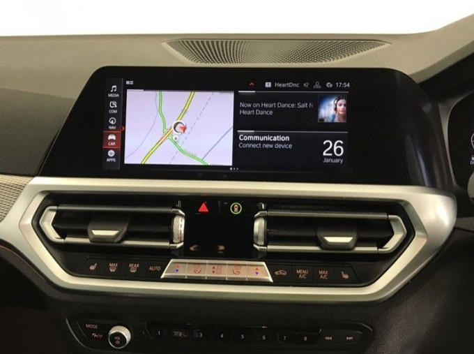 2020 BMW 320d M Sport Touring (White) - Image: 7