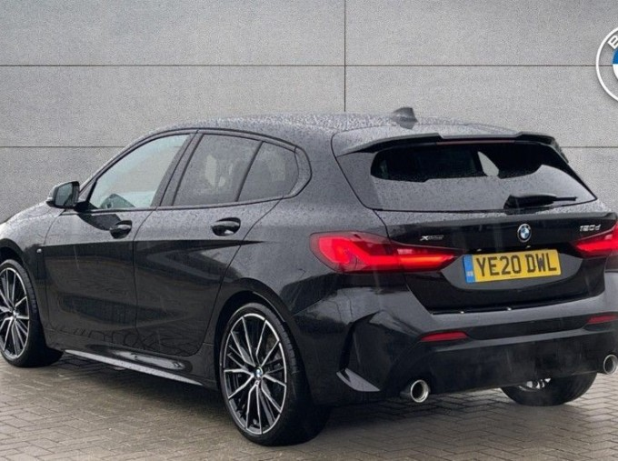 2020 BMW 120d xDrive M Sport (Black) - Image: 2