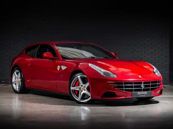 2014 Ferrari Auto Seq 3-door (Red) - Image: 1