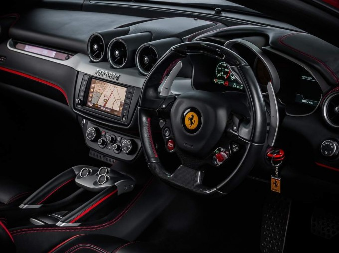 2014 Ferrari Auto Seq 3-door (Red) - Image: 4