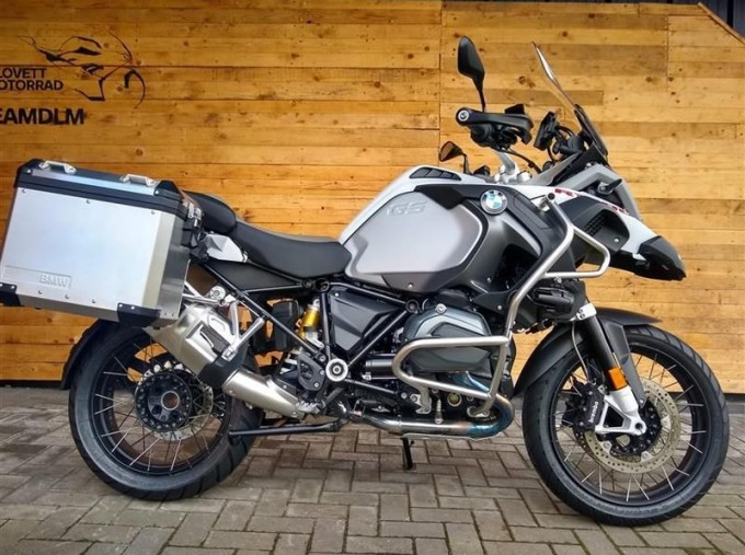 2017 BMW R1200GS Adventure Unlisted Unknown (White) - Image: 1