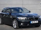 2018 BMW 118d Sport 5-door (Black) - Image: 1