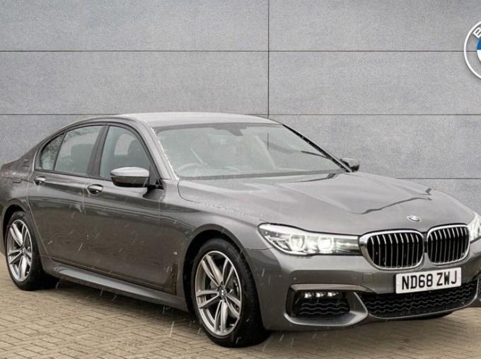 2018 BMW 740e M Sport Saloon (Grey) - Image: 1
