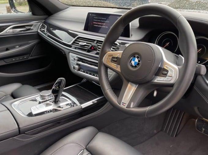 2018 BMW 740e M Sport Saloon (Grey) - Image: 6