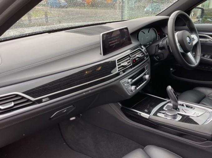 2018 BMW 740e M Sport Saloon (Grey) - Image: 7