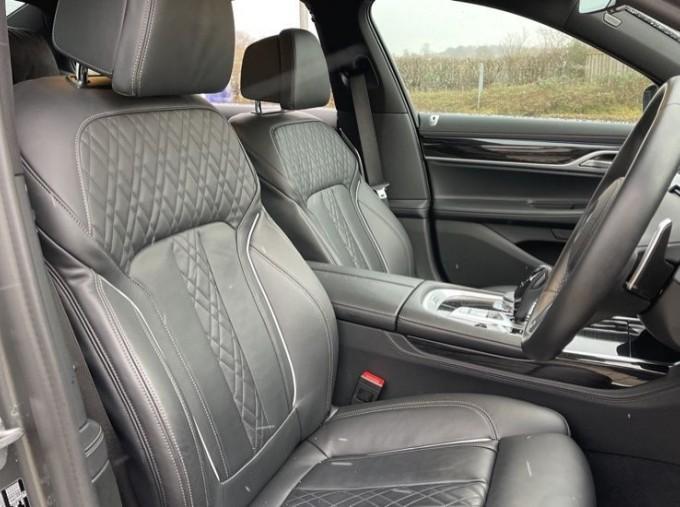 2018 BMW 740e M Sport Saloon (Grey) - Image: 11