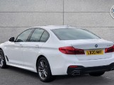 2020 BMW 520d M Sport Saloon (White) - Image: 2