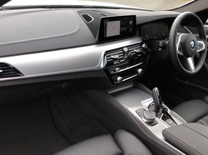 2020 BMW 520d M Sport Saloon (White) - Image: 7