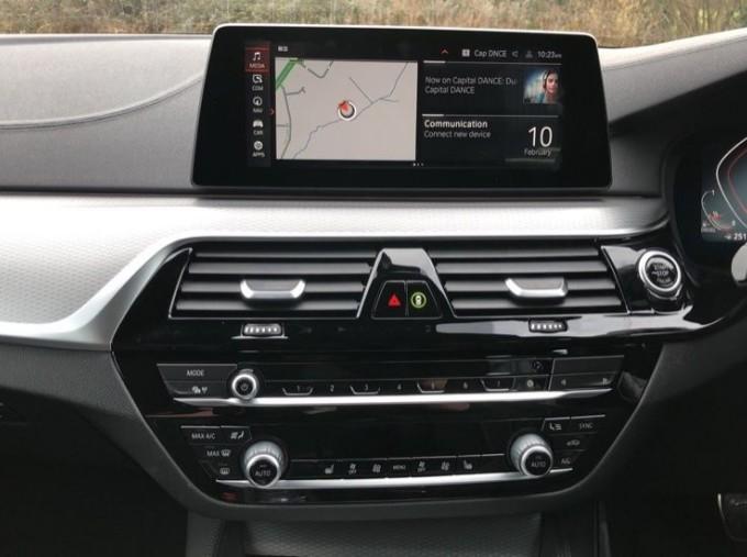 2020 BMW 520d M Sport Saloon (White) - Image: 8