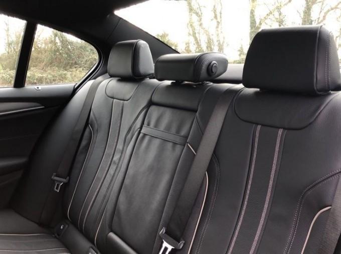 2020 BMW 520d M Sport Saloon (White) - Image: 12