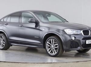 Brand new 2016 BMW X4 Series X4 xDrive20d M Sport 5-door finance deals