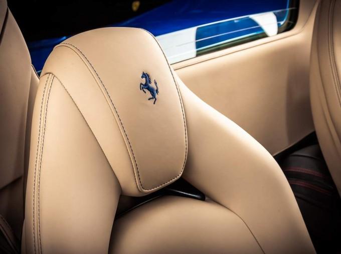 2016 Ferrari V8 Spider F1 DCT 2-door (Blue) - Image: 6