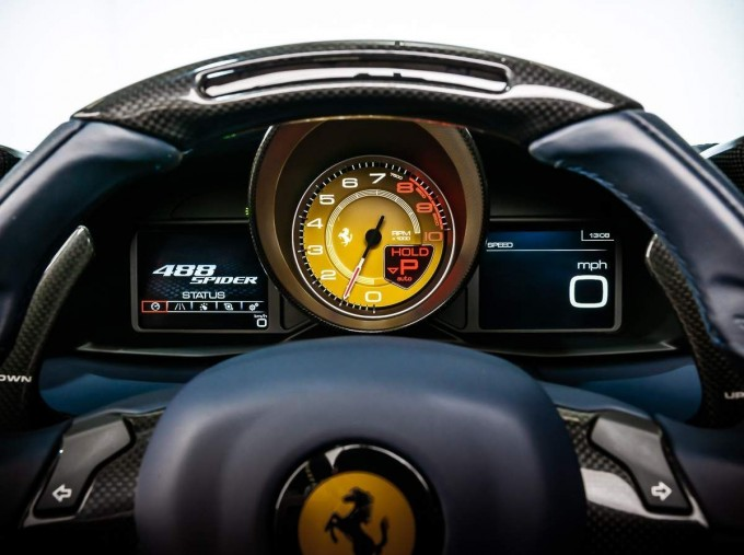 2016 Ferrari V8 Spider F1 DCT 2-door (Blue) - Image: 16