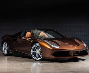 2018 Ferrari Spider 70th Anniversary (Brown) - Image: 1
