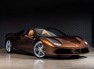 2018 Ferrari 488 Spider 70th Anniversary 2-door