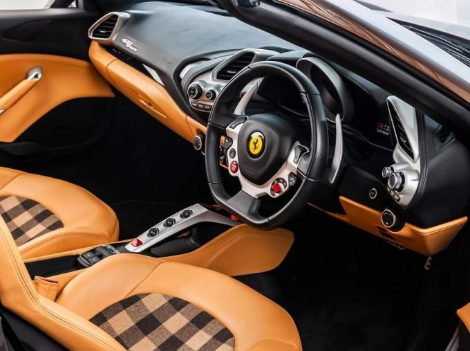 2018 Ferrari Spider 70th Anniversary (Brown) - Image: 4