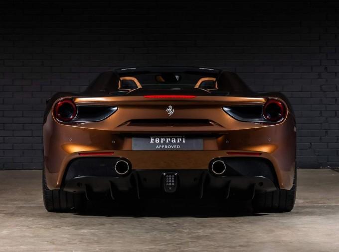 2018 Ferrari Spider 70th Anniversary (Brown) - Image: 10