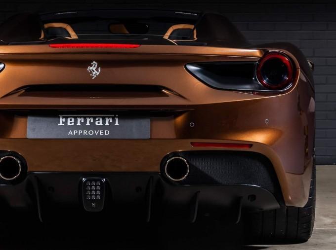 2018 Ferrari Spider 70th Anniversary (Brown) - Image: 11