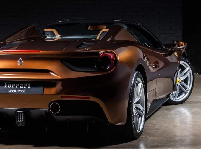 2018 Ferrari Spider 70th Anniversary (Brown) - Image: 12